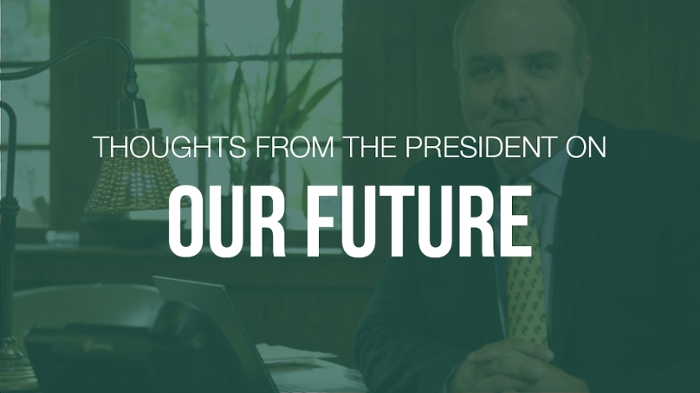President King on our future