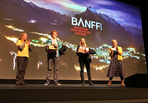 Chrissy Turk at Banff Film Festival