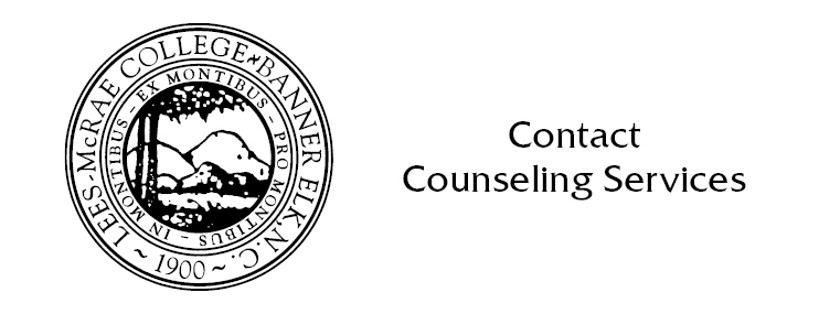 Contact Counseling