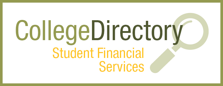 Student Financial Services | Search by Department